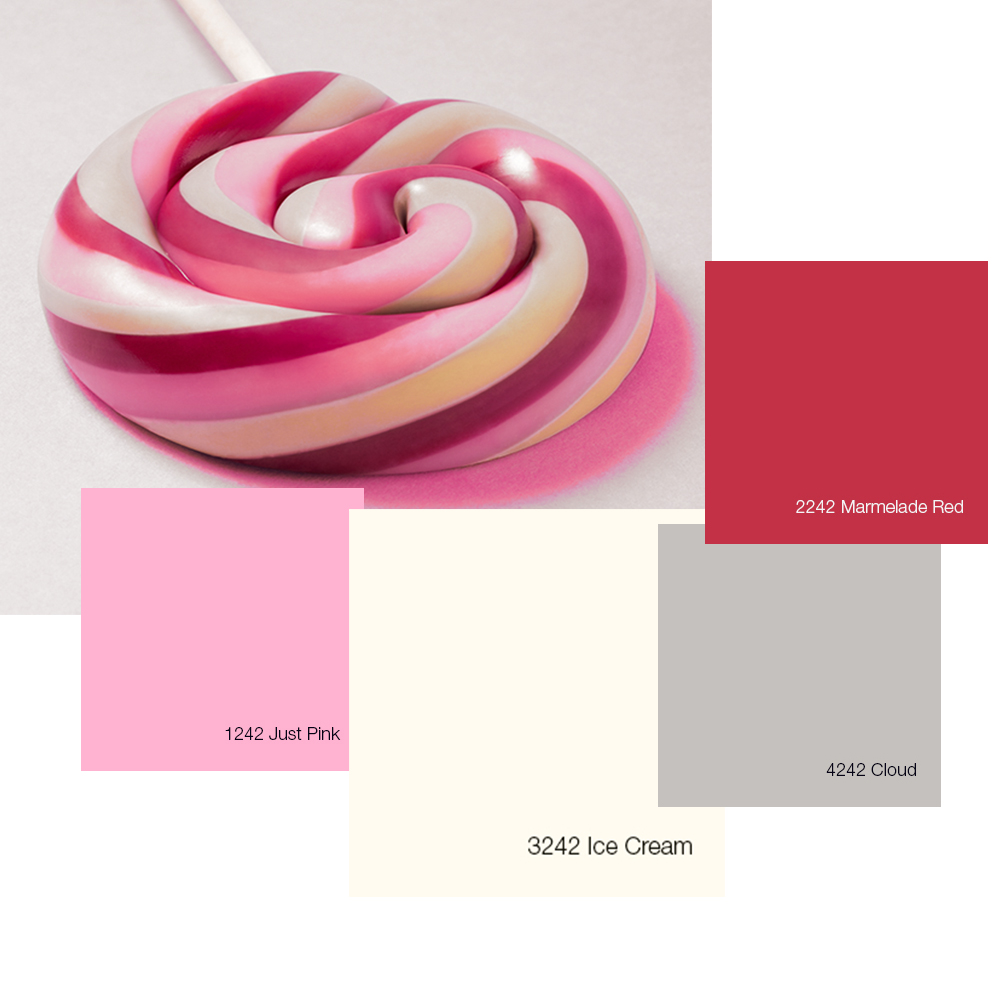 Combineer kleuren met Sweet Memories uit de Tintto Color Collection